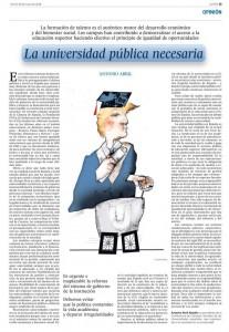 Artículo en El País, en su edición del 18 de mayo de 2018