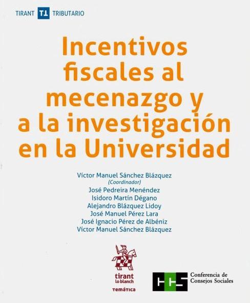 Incentivos fiscales al mecenazgo y a la investigación en la Universidad