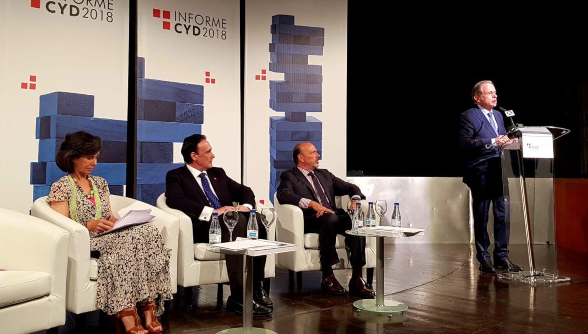 Presentación del Informe CYD 2018