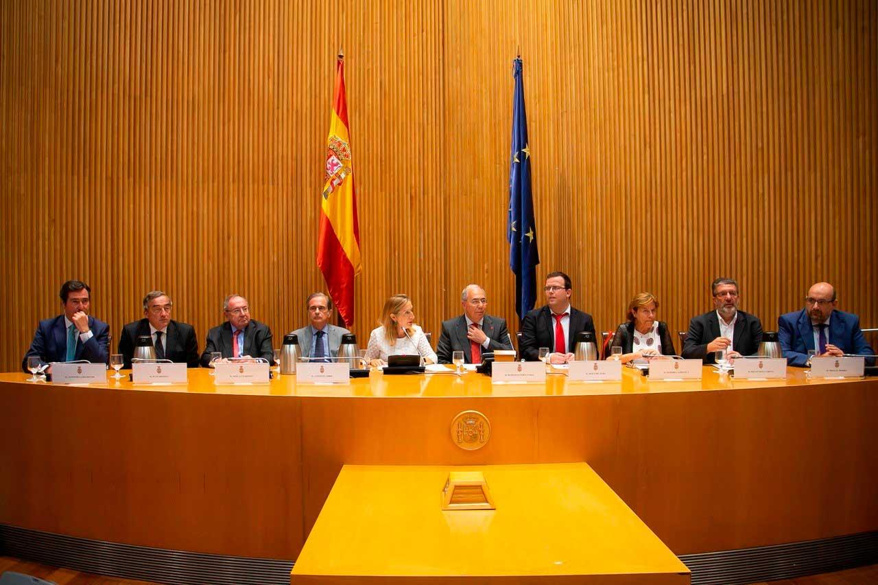 Relaciones institucionales Consello Social UDC - CCSU y CRUE en Congreso