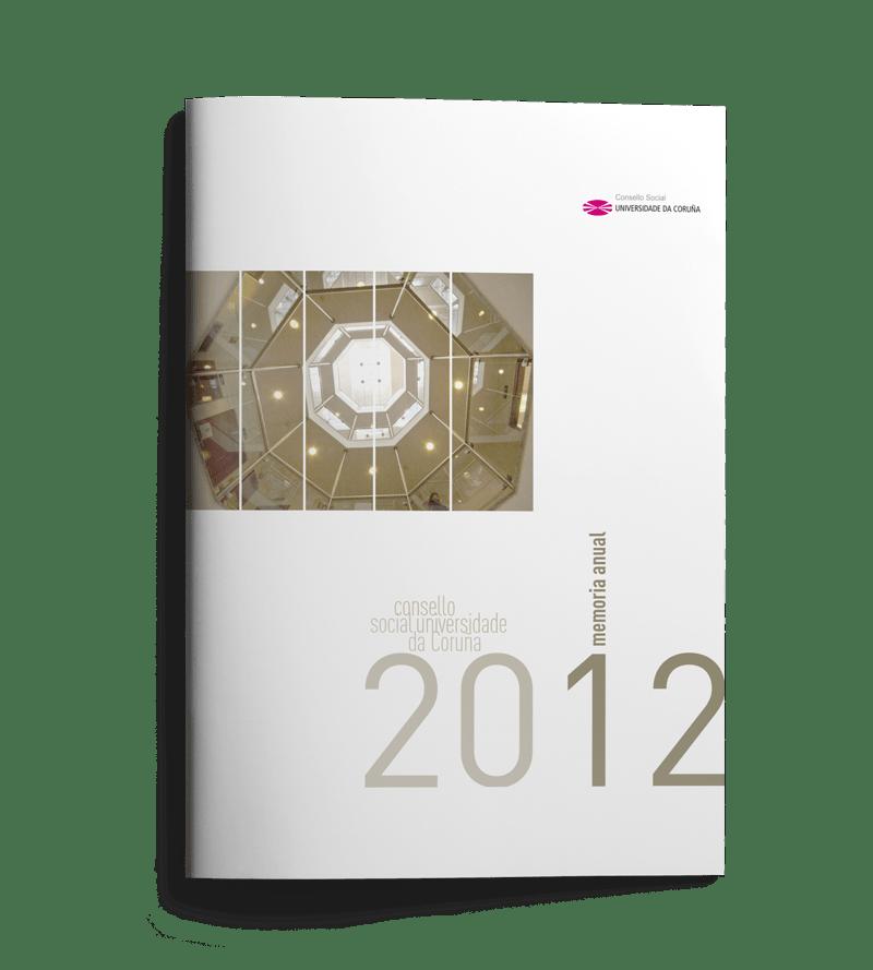 Memoria anual Consello Social UDC 2012