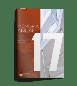 Memoria anual Consello Social UDC 2017