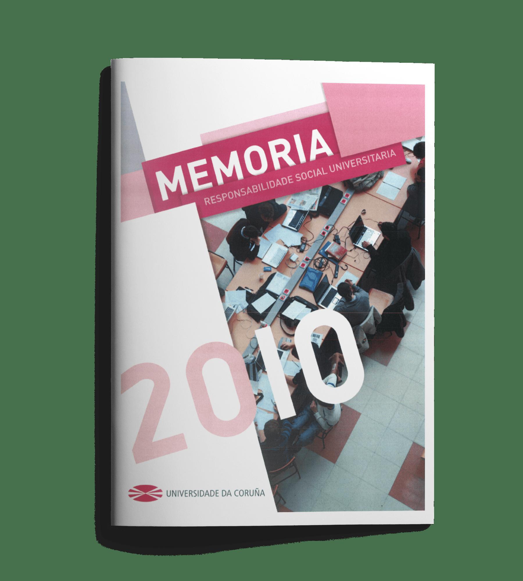 Memoria Responsabilidad Social Universitaria 2010